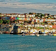 The Golden Hour Of Brixham, England by atomov