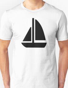 Sail boat symbol T-Shirt
