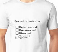 Sexual Orientation: Asexual Unisex T-Shirt