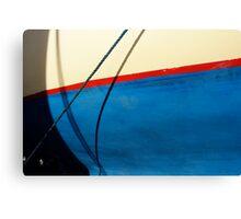 Boatyard stripe Canvas Print