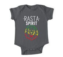 RASTA SPIRIT WHITE One Piece - Short Sleeve