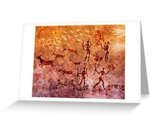 Prehistoric Artistry Greeting Card