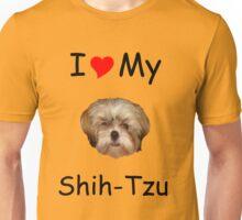 I *heart* My Shih-Tzu T-shirt (from Lost!) Unisex T-Shirt