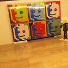 Lego Art Gallery, Lego Store Rockefeller Center, New York City  by lenspiro