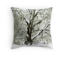 Majestic Oak Throw Pillow