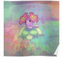 Bellossom Color Splash Poster