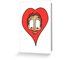 Your Always In My Heart Greeting Card