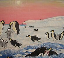 King Penguins in orca play by cdcantrell