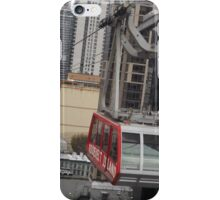 Aerial View of Roosevelt Island Tram, New York City iPhone Case/Skin
