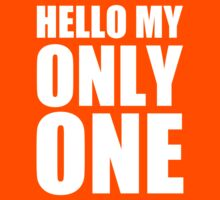 Hello My Only One - Kanye West Kids Clothes