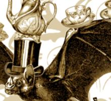 Tea Bats I Sticker