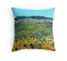 Broom Flowers, Capri Throw Pillow