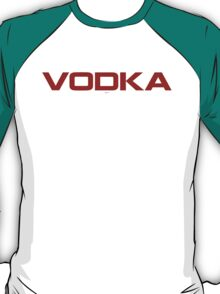 red vodka T-Shirt