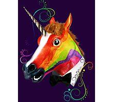 Fabulous Unicorn Photographic Print