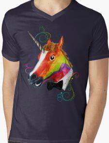 Fabulous Unicorn Mens V-Neck T-Shirt