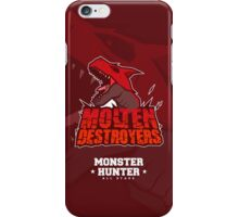 Monster Hunter All Stars - Molten Destroyers iPhone Case/Skin