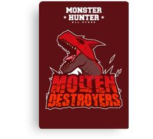 Monster Hunter All Stars - Molten Destroyers Canvas Print