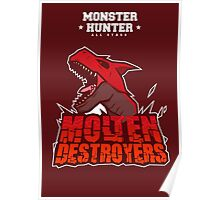 Monster Hunter All Stars - Molten Destroyers Poster