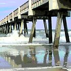 Jax Beach Fishing Pier by mekea