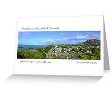 The Strand and Castle Hill -Townsville Greeting Card