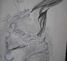 Smoke Dragon by Iktomi