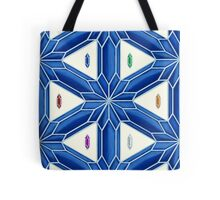 Rupee Stars - Blue Rupees Tote Bag