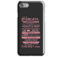 I Am a Princess (version 2) iPhone Case/Skin