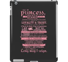 I Am a Princess (version 2) iPad Case/Skin