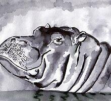 Hippo by artbasik