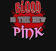 Blood is the New Pink Womens Fitted T-Shirt