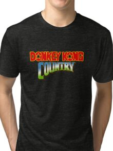 Donkey Kong Country Tri-blend T-Shirt