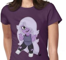 Steven Universe- Chibi Amethyst Womens Fitted T-Shirt