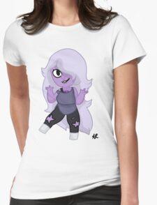 Steven Universe- Chibi Amethyst Womens Fitted T-Shirt