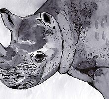 Rhino by artbasik