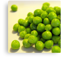 Buttered Peas Canvas Print