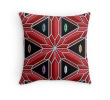 Rupee Stars - Red Rupees Throw Pillow