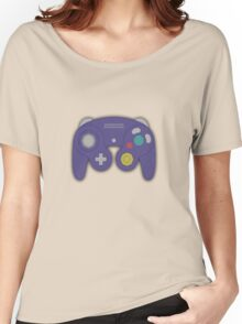 GAMECUBE CONTROLLER PRINT Women's Relaxed Fit T-Shirt
