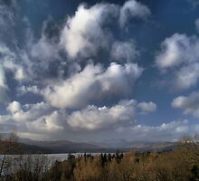 Winter Windermere Water by clickinhistory
