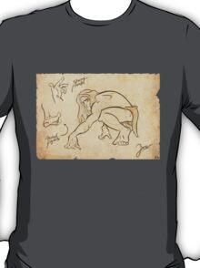 Tarzan Jane´s Sketch. T-Shirt