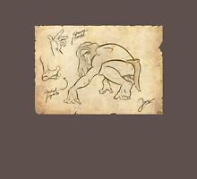 Tarzan Jane´s Sketch. Unisex T-Shirt