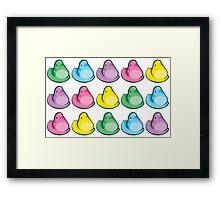 Easter Peeps Framed Print