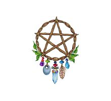 Pentacle Charm by Jane Starr Weils