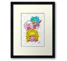 Misfits Jem and the Holograms Framed Print
