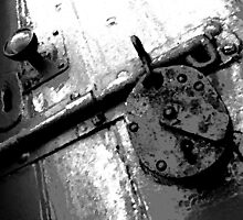 keepers lock in black and white by ChuckD