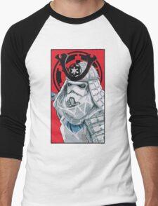 Samurai Trooper Men's Baseball ¾ T-Shirt