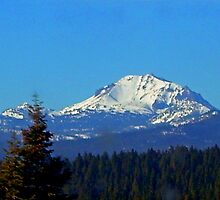 Mt. Lassen by Edward Henzi