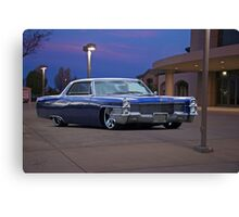1965 Cadillac Coupe De Ville 'Low Rider' Custom Canvas Print