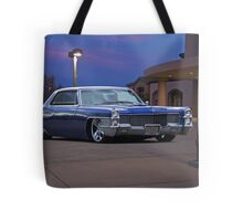 1965 Cadillac Coupe De Ville 'Low Rider' Custom Tote Bag