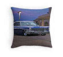 1965 Cadillac Coupe De Ville 'Low Rider' Custom Throw Pillow