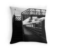 Platform one Throw Pillow